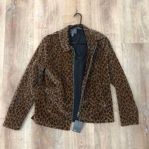 ASOS leopard jacket